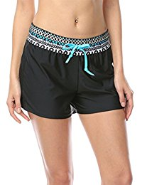 dusishidan printed board shorts for women with back pockets PNSEYGF