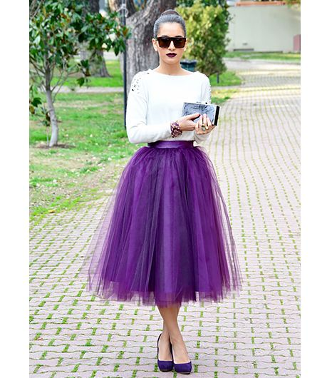 ezgi emrealp of the proje2ct think beyond pink and white. a tulle skirt in YYYUNXG