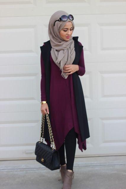 Ladies getting trendy with hijab fashion