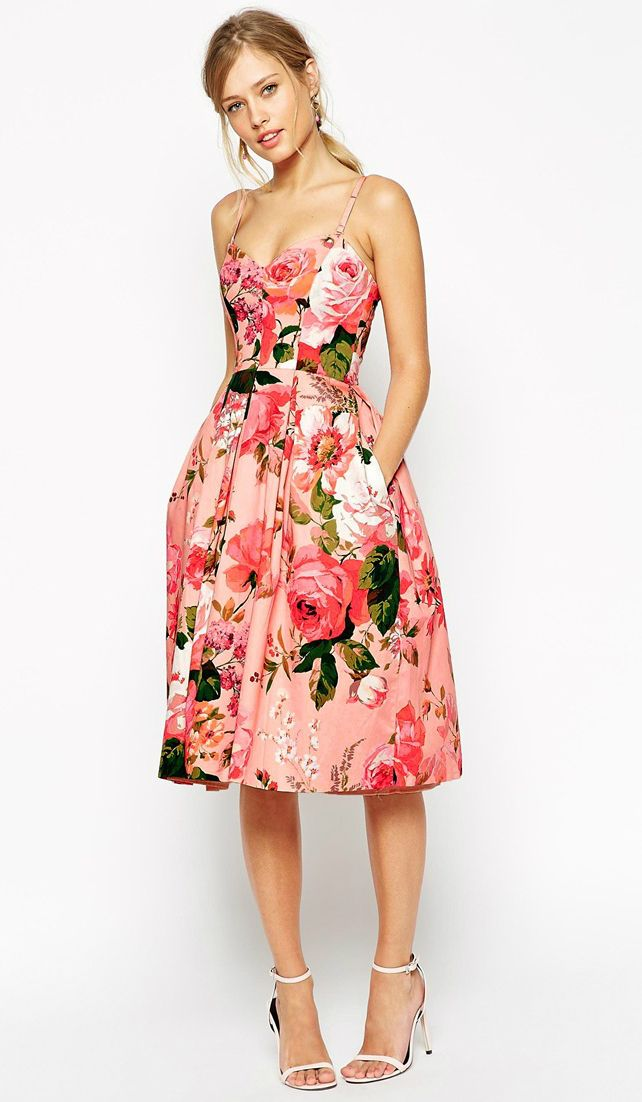 floral dress floral skirt outfits NPJZMJR