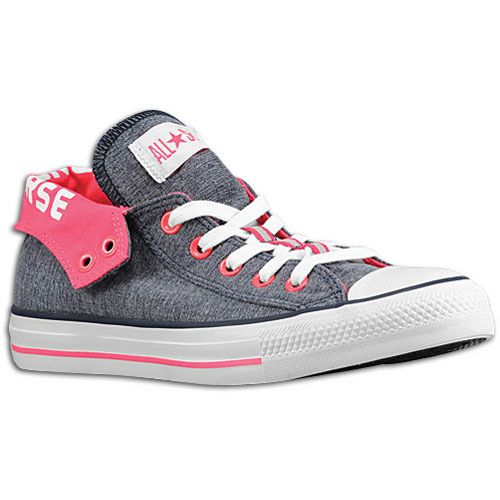 girls converse shoes converse shoes for girls-gray outside/pink inside with converse printed on  the part PBXXYLH