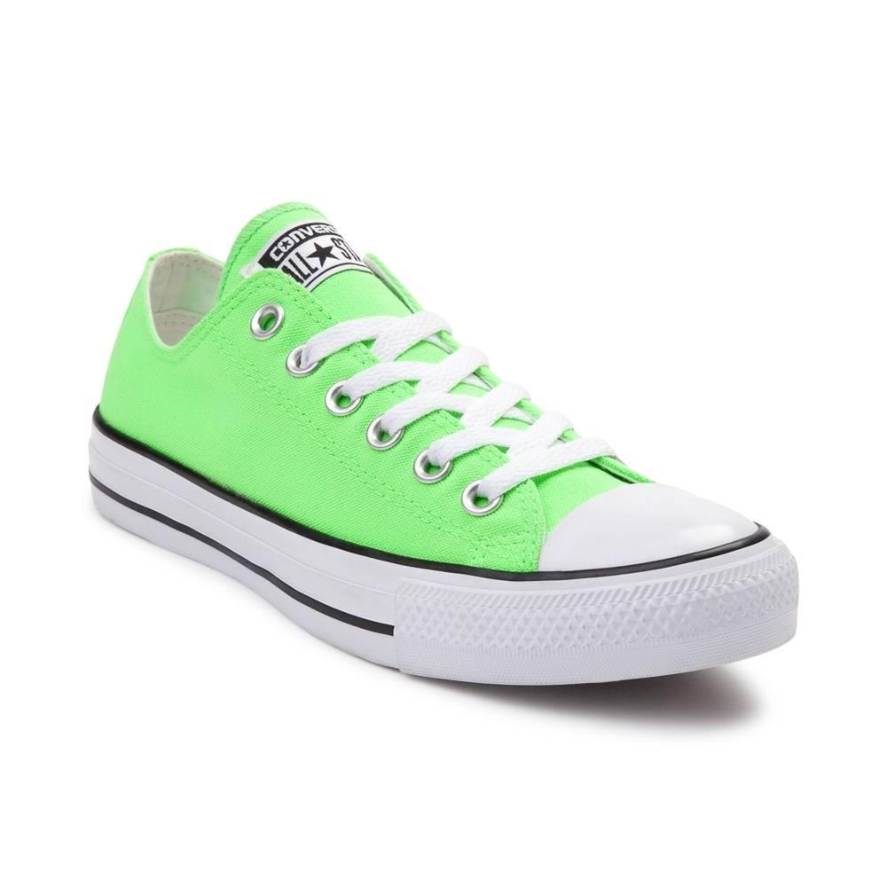 green converse converse chuck taylor all star lo neon sneaker KAAZEQJ