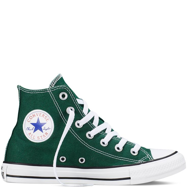 green converse converse - chuck taylor fresh colors - gloom green - hi top UDYHEFO