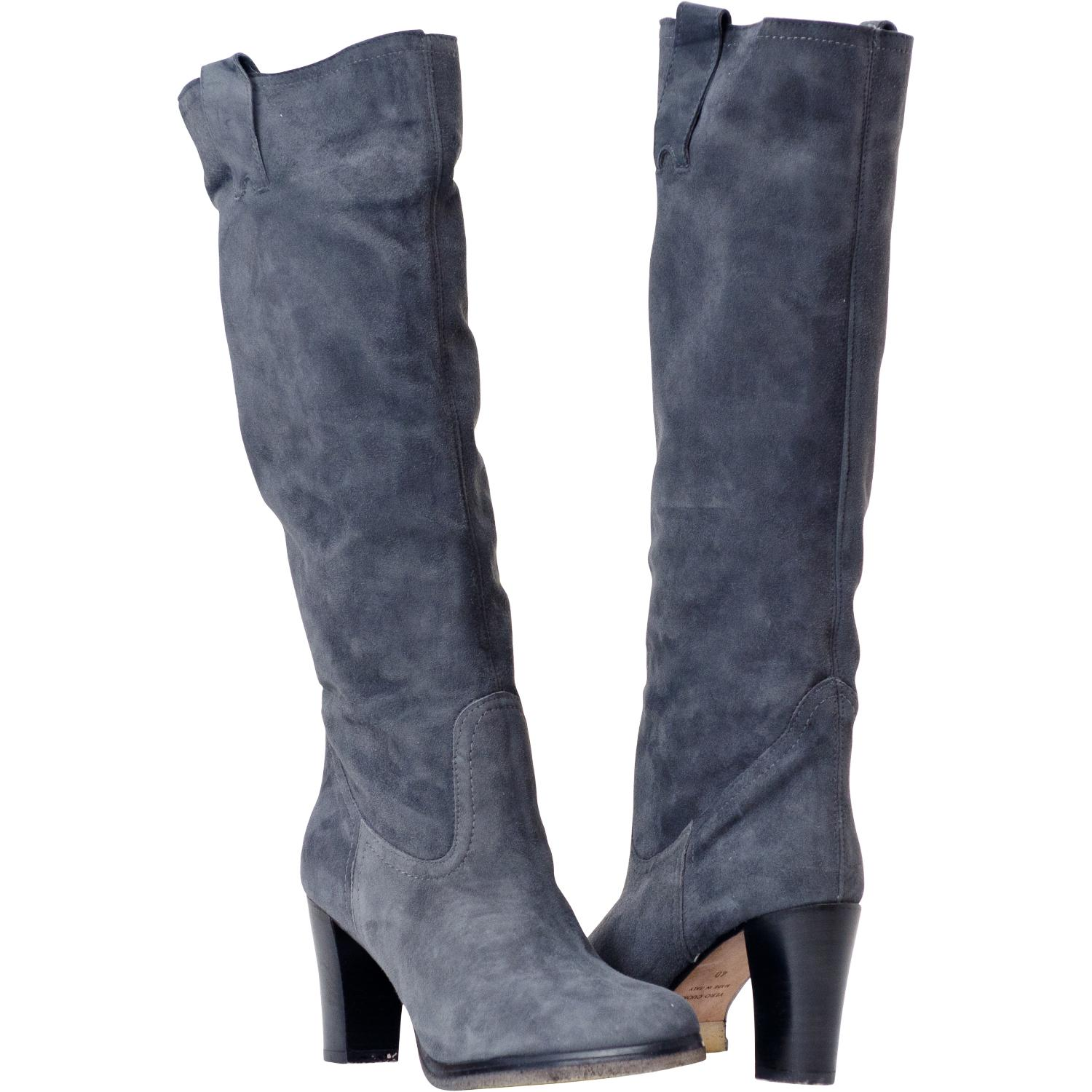 grey suede boots june grey suede tall boots TFWYBQZ