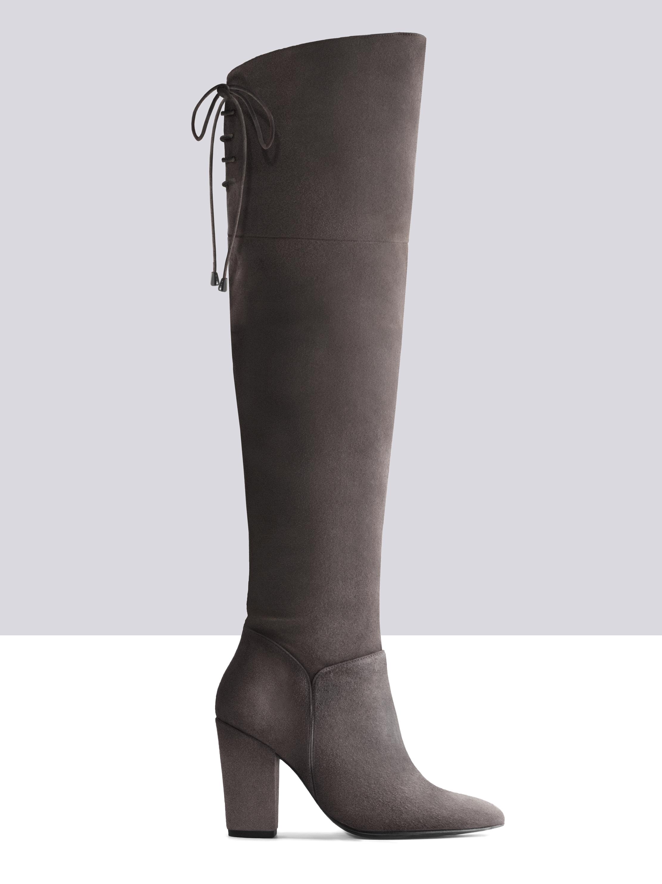 grey suede boots null HDPRDIO
