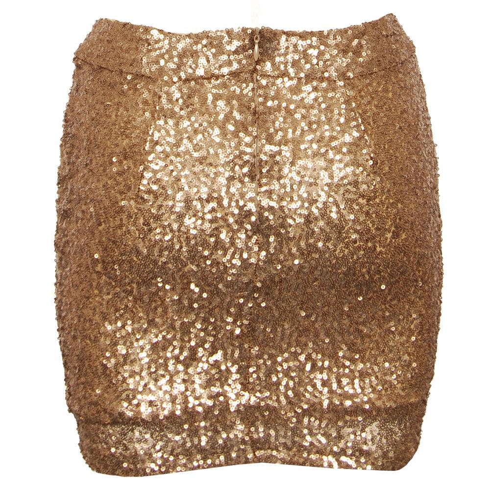 hearts u0026 bows virginia gold sequin skirt NPCLDPS
