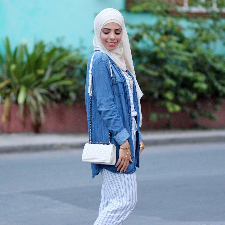 hijab fashion bloggers | popsugar fashion VMTTZUY