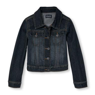 jackets for girls girls long sleeve denim jacket JXVVZJV