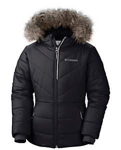 jackets for girls girlsu0027 katelyn crest hooded puffy jacket | columbia.com THEOGJG