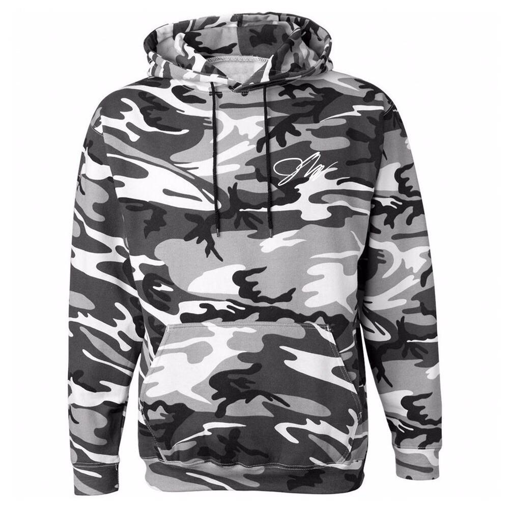jake paul gray camo hoodie (limited) RELLJQU