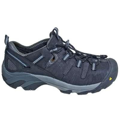 keen shoes for men keen shoes: menu0027s 1006977 black atlanta cool steel toe shoes FEFKXGN