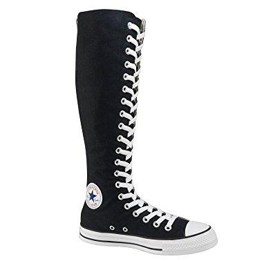 Knee High Converse converse chuck taylor all star xx hi black zipper menu0027s 4/ womenu0027s 6 ZIOLCSP