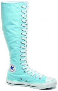 Knee High Converse light blue knee high converse shoes more RVPKKCW