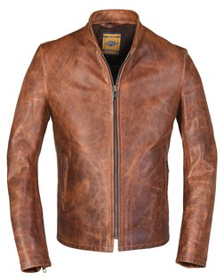 leather jackets 571 - unlined cafe racer jacket REEIJWQ