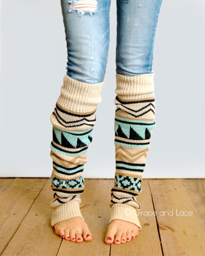 leg warmers tan SBVCLLL