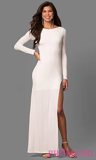 long sleeved prom dresses loved! LKIELMC