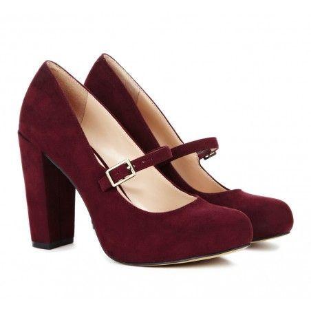 mary jane pumps camille. burgundy heelsred burgundymary jane ... MVLCFAW