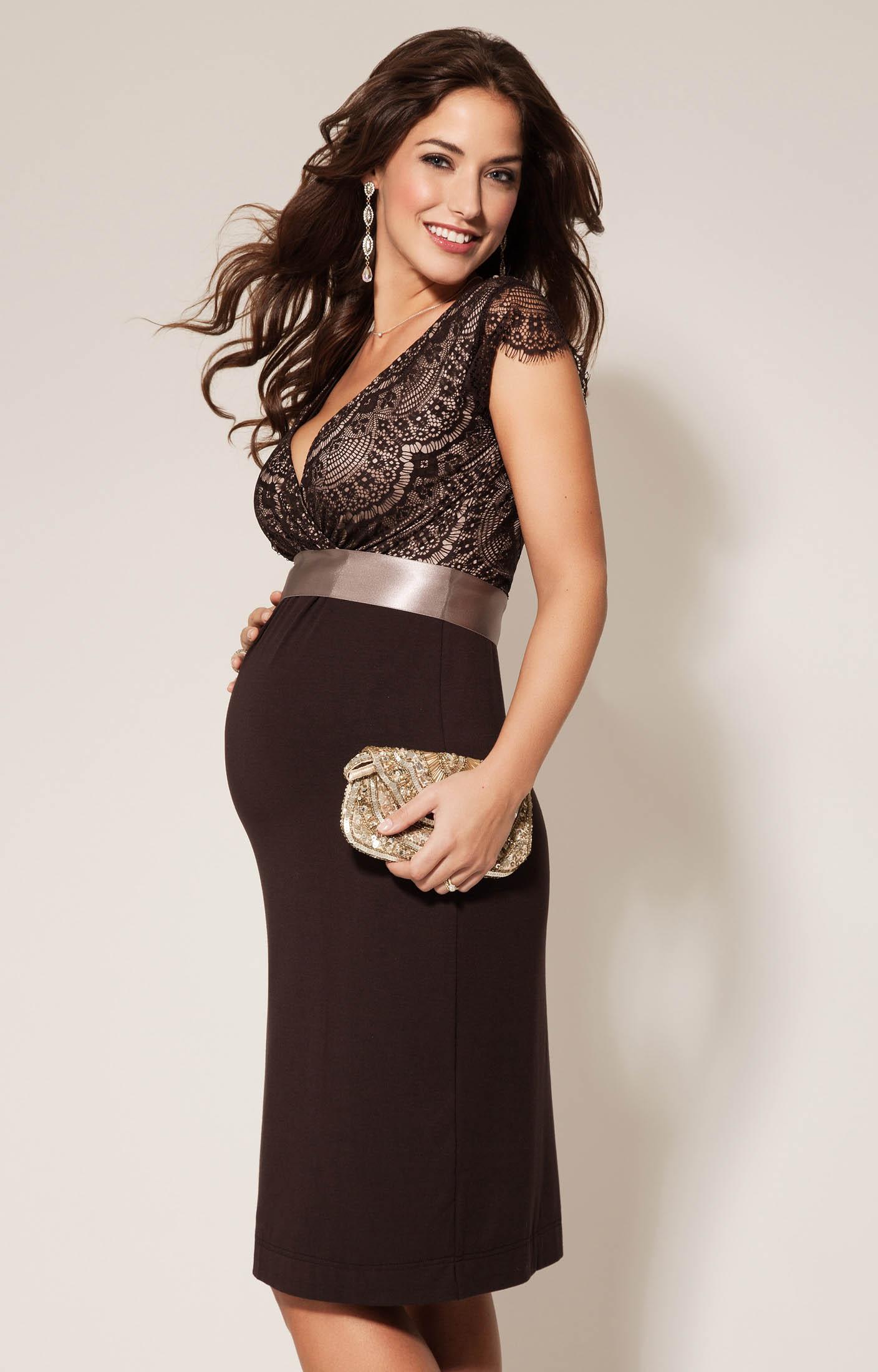 maternity wear rosa maternity dress mocha by tiffany rose FPEERDA
