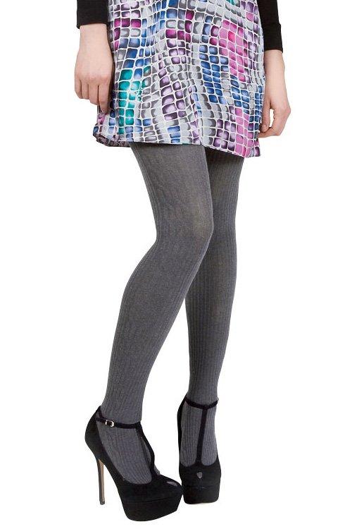 memoi side cable sweater tights WSFIQLZ