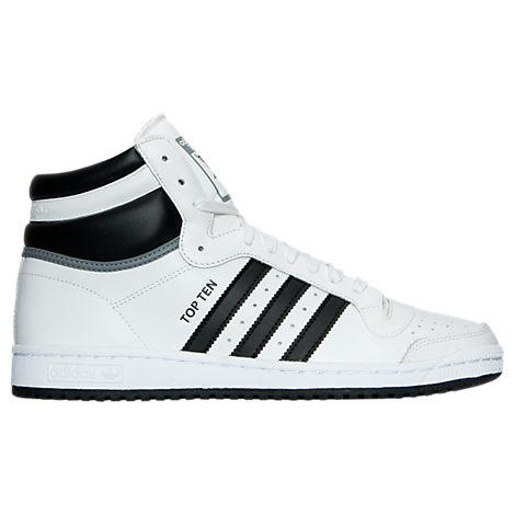 menu0027s adidas top ten hi casual shoes WIANVTB