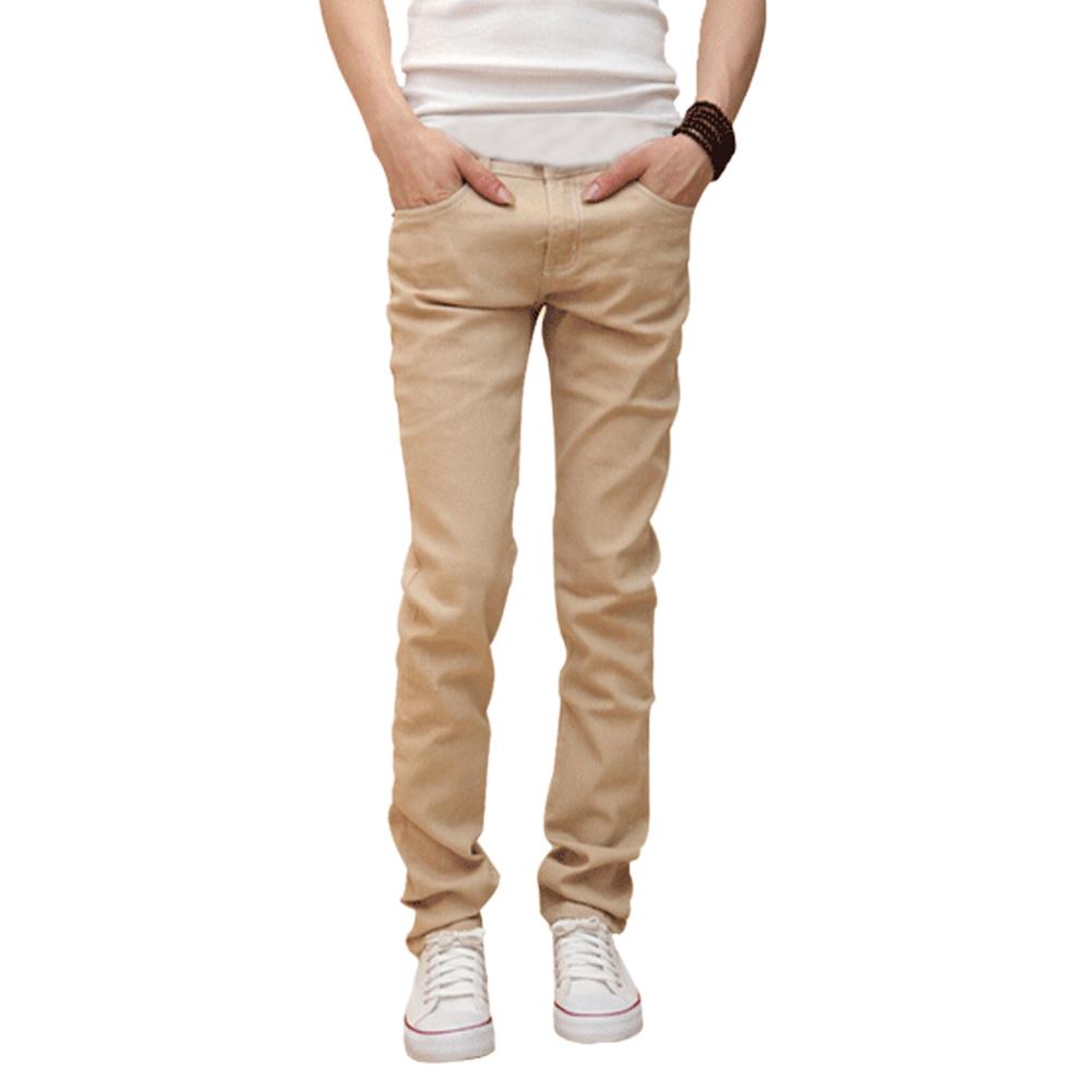 mens beige jeans IIJNQAV