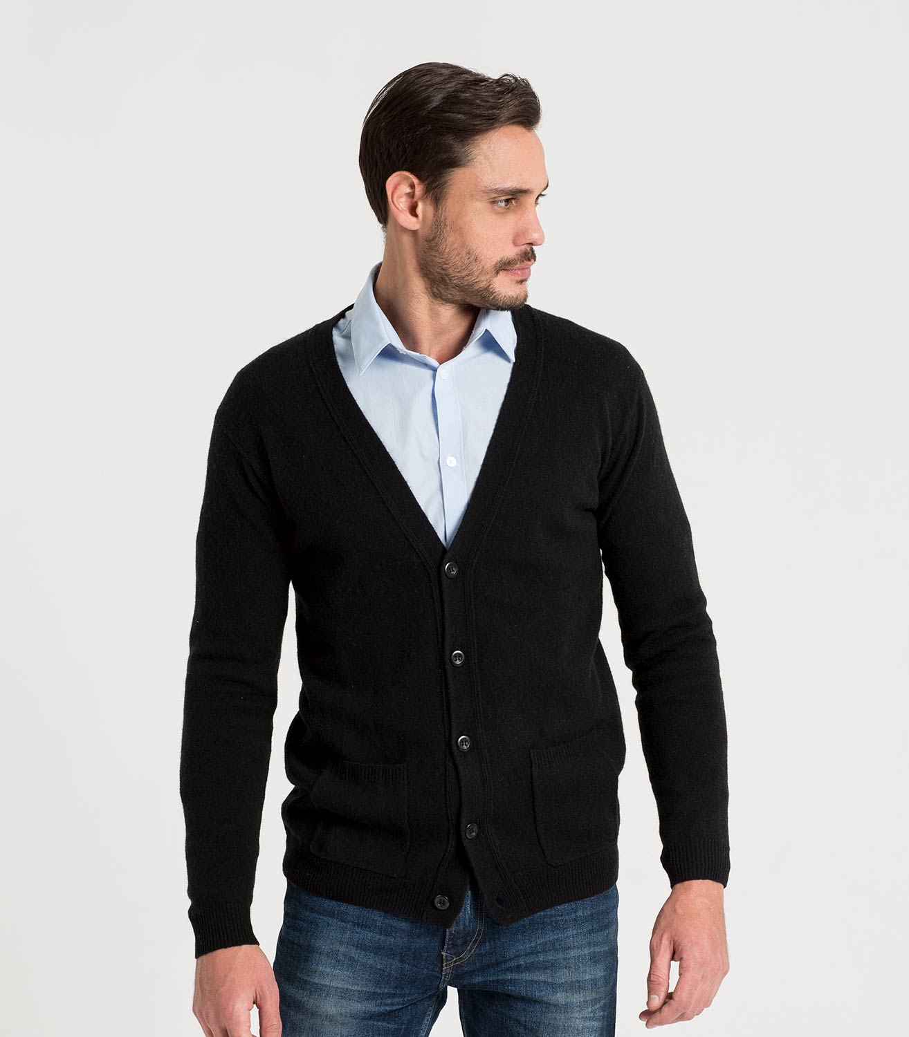 Men's cardigan for your instant warm fix with - storiestrending.com
