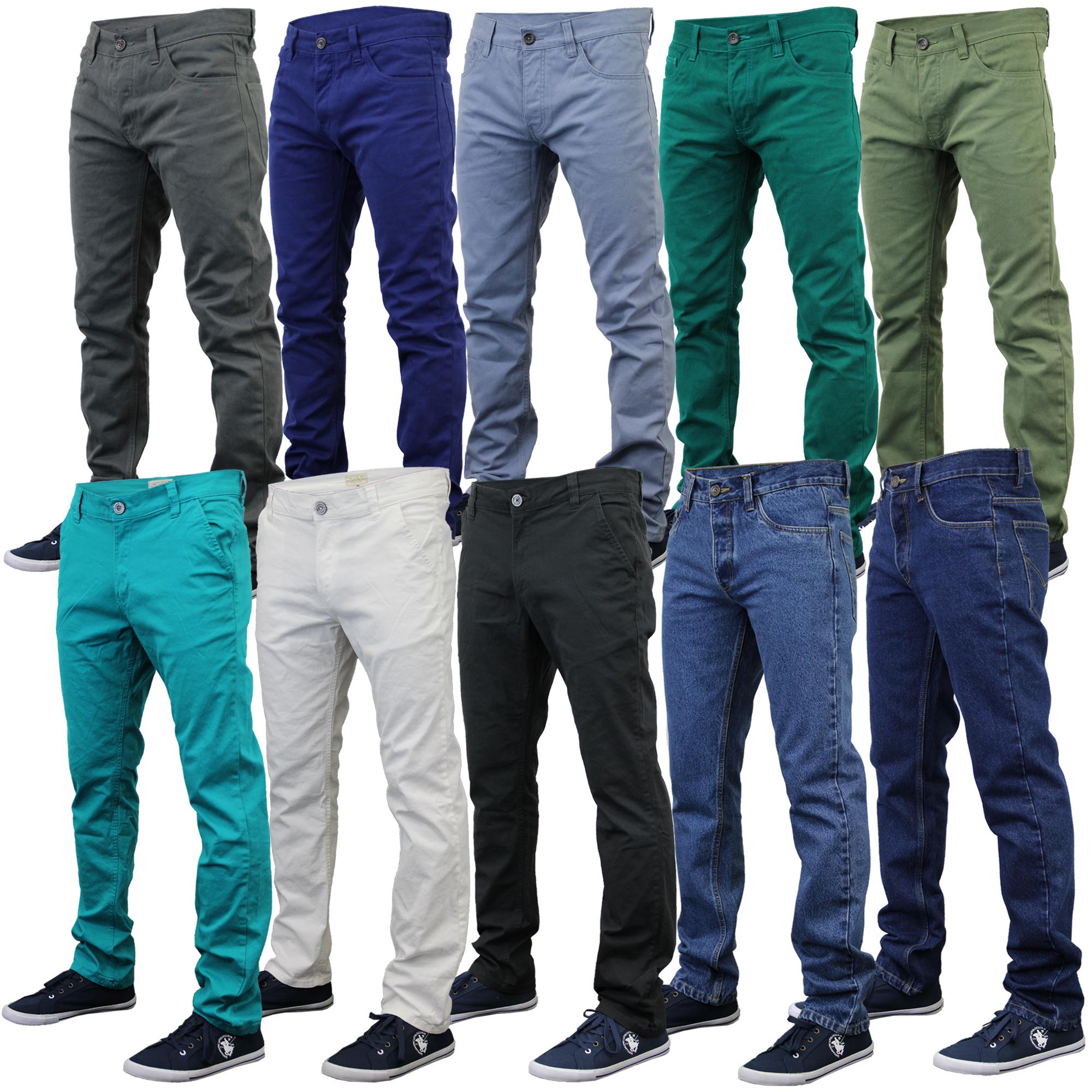 mens chino jeans jack south kushiro city denim pants slim fit casual summer PRXYEGS
