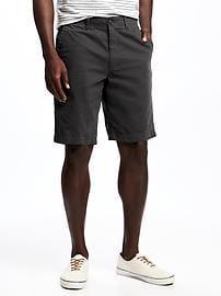 mens chino shorts broken-in khaki shorts for men (10 IQHFKVX