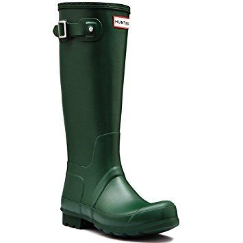 mens hunter original tall winter rain waterproof snow wellingtons boots -  hunter green NDJNUGJ