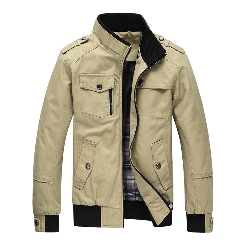 mens jackets brand clothing,new cotton casual long sleeve zip slim menu0027s jackets fashion jacket  men PUGVJXQ