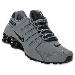 mens nike shox menu0027s nike shox nz eu running shoes | finish line | cool grey/black/ ZHLLVCO