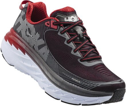 mens running shoes hoka one one bondi 5 road-running shoes - menu0027s - rei.com VYUKUBK