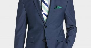 mens suits perry ellis portfolio blue slim fit suit - menu0027s slim fit | menu0027s wearhouse HCZQYAZ