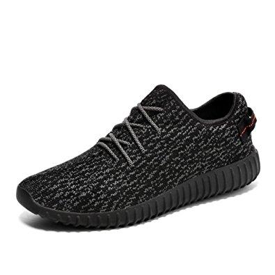 mens trainers gym running trainers fitness lightweight sports  shoes(5uk/39eu, black) QSMEESZ
