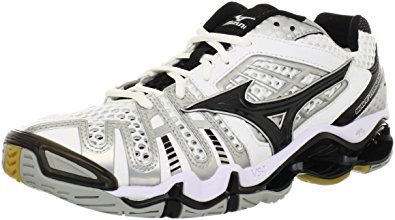 mizuno volleyball mizuno menu0027s wave tornado 8 volleyball shoe,white/black,14 ... PTWBIYY