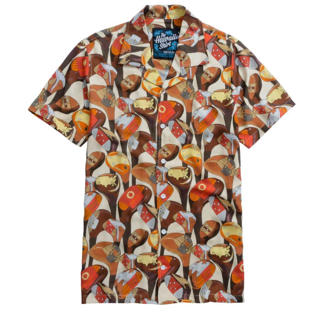 morning woods hawaiian shirt GVTWALG