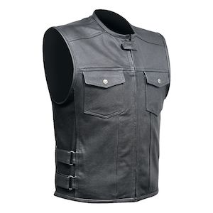 motorcycle vest custom bilt aston vest EHGEWKG