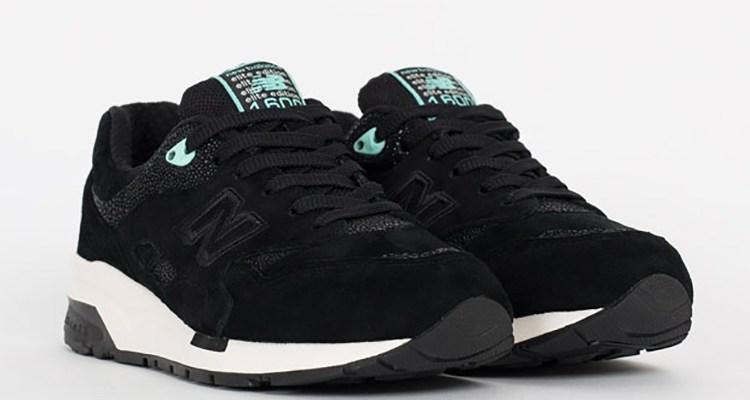 new balance 1600 elite edition black/turquoise QMMGZLY