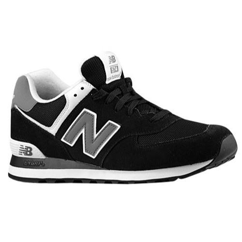 New Balance 574 Black main product image CBJSXQB