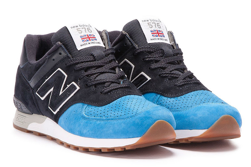 New Balance 576 a blue toe highlights this new balance 576 KLXVBUN