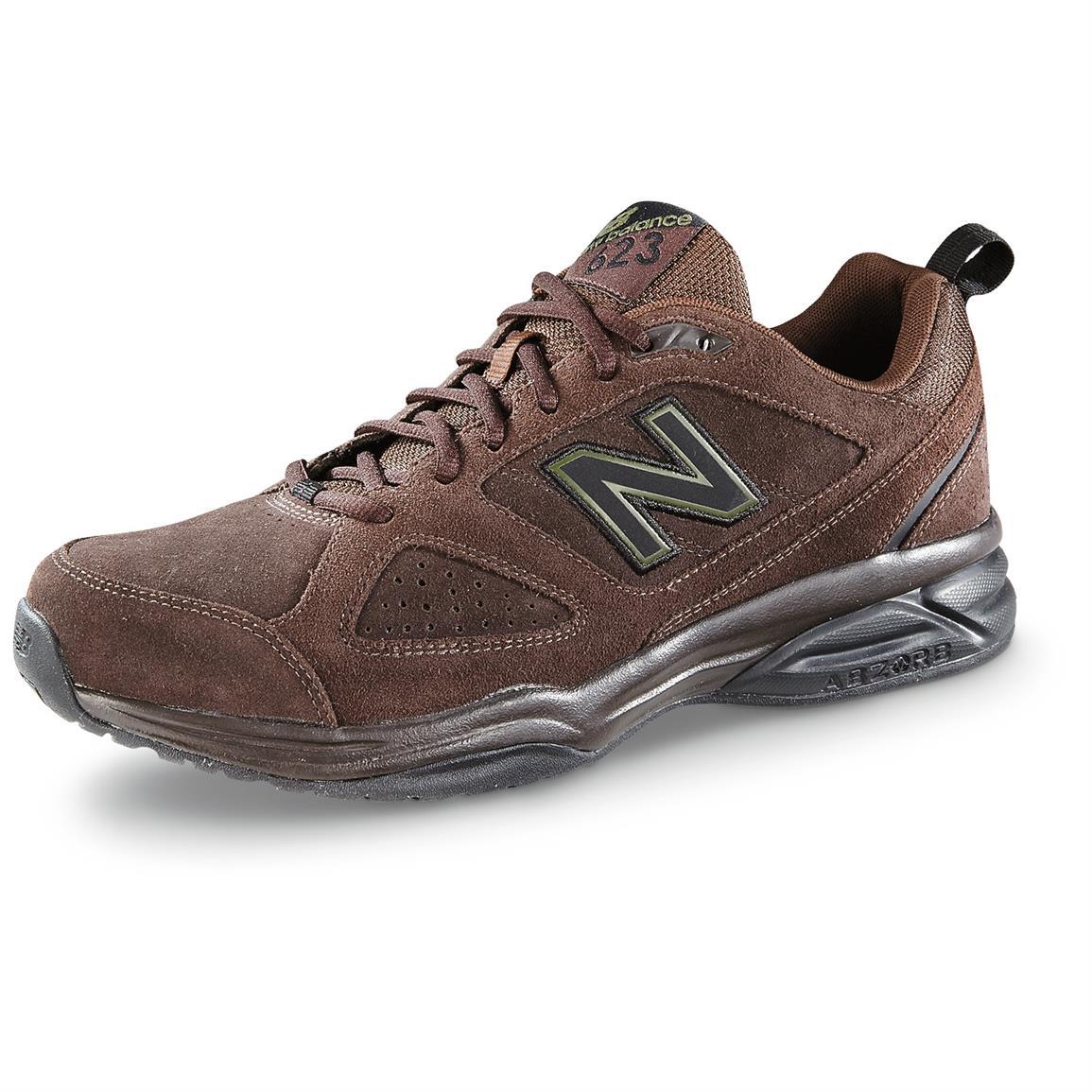new balance 623 new balance men¿s 623 v3 cross trainers, brown nubuck UCZAPBO
