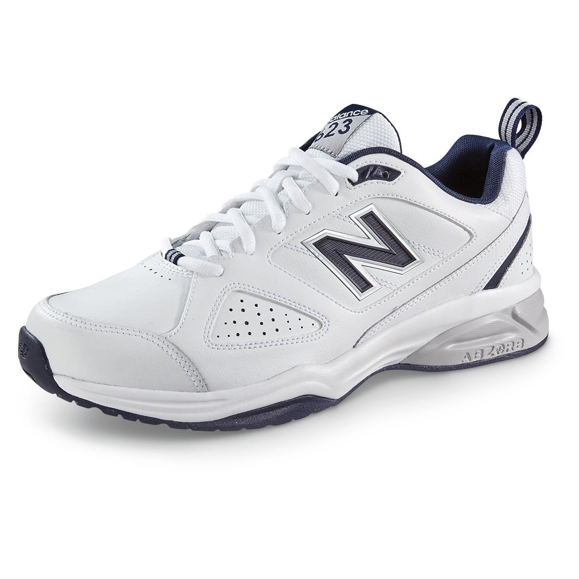 new balance 623 new balance men¿s 623 v3 cross trainers, white / navy KUTSURP