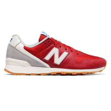 new-balance-696 new balance 696 re-engineered, red with light grey EJARKNZ