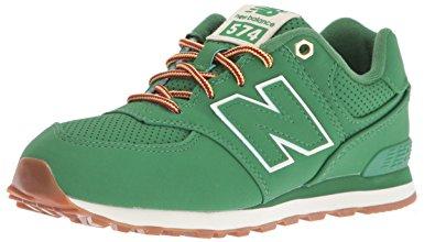 New Balance Kids new balance unisex kidsu0027 574 low-top sneakers, green (green), NZTEUBD