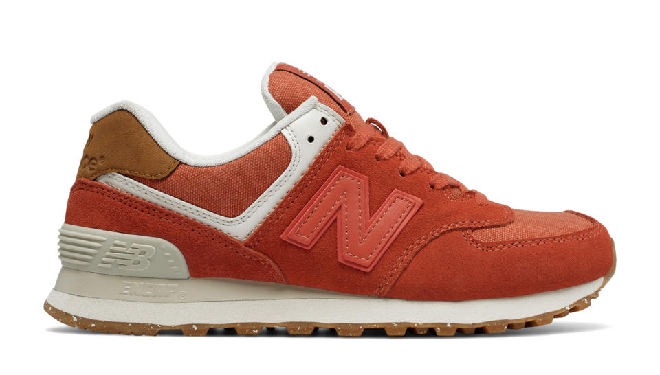 new balance shoes for women new balance 574 global surf, pink clay with  powder NDQWYMI