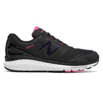 new balance shoes for women new balance pink ribbon 1865, black with white u0026 komen pink JZXKXSE