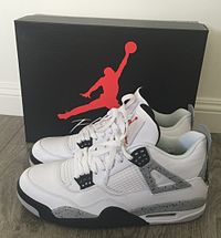 nike air jordan iv, (white cement colorway) WFNNSDZ