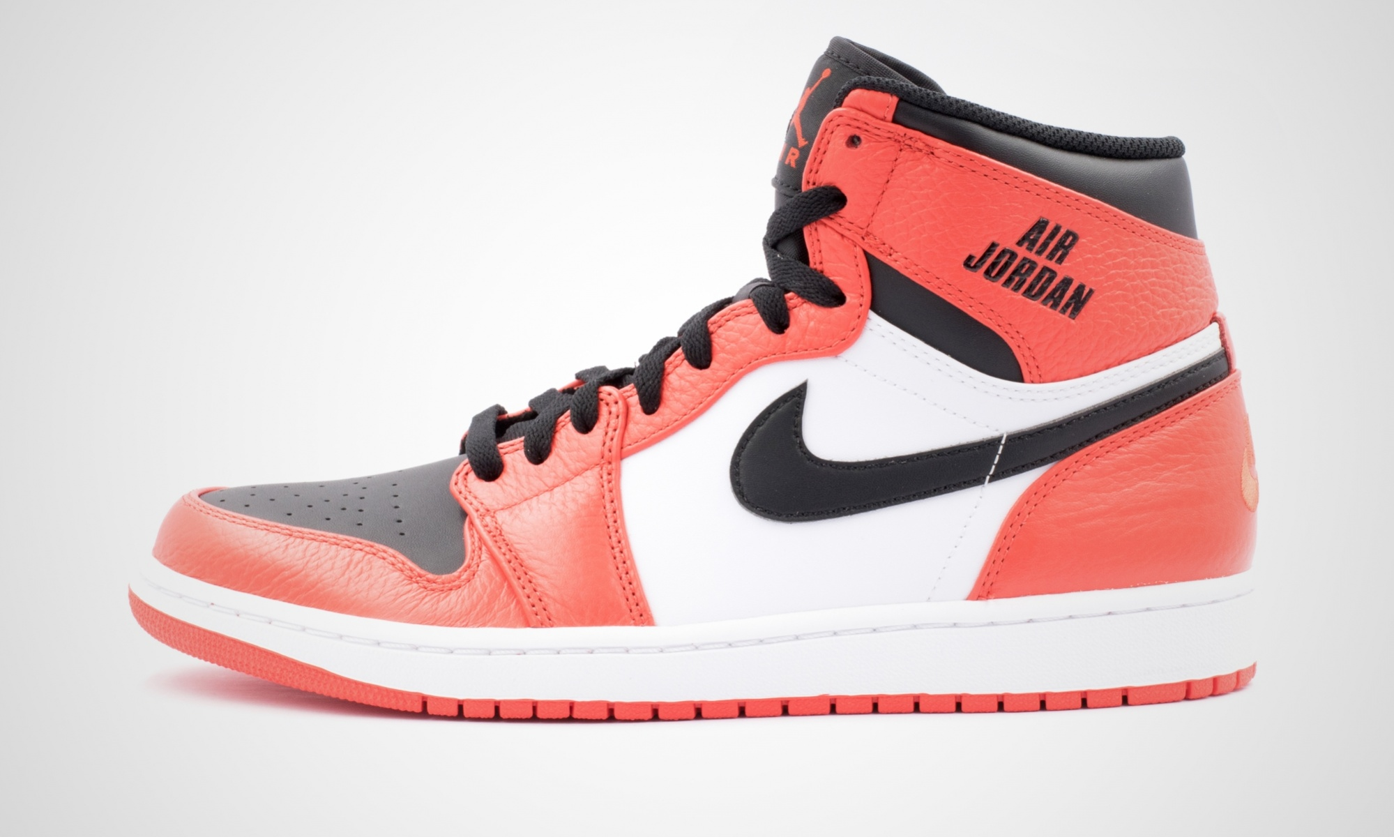 nike air jordan nike - air jordan 1 retro high (red / white) EFBICTM