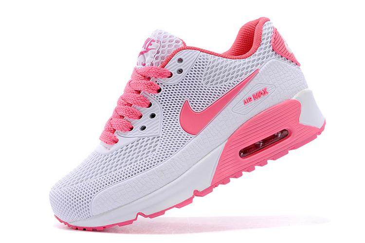 Nike Air Max Kids nike air max 90 tpu kpu kids white pink shoes,nike running shoes sale, FFNMZKN