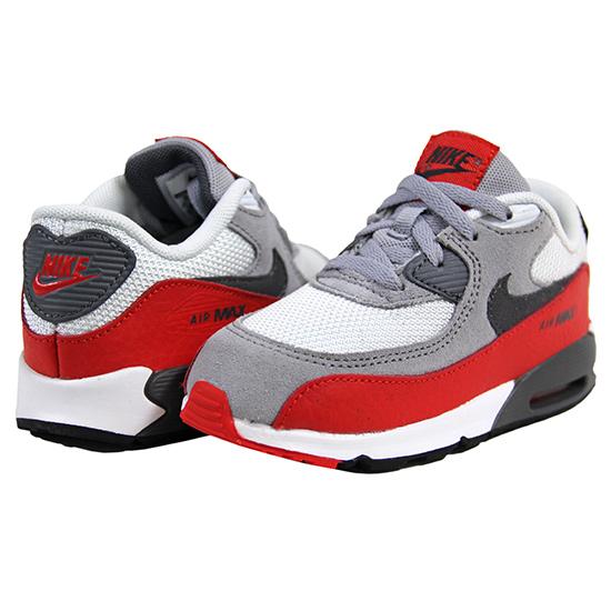 Nike Air Max Kids nike kids nike kids nike air max 90 kids sneakers / grey / red OBITADX